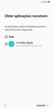 Samsung Galaxy S8 - Android Oreo - Primeiros passos - Como ligar o telemóvel pela primeira vez -  17