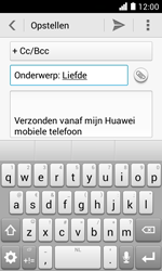 Huawei Ascend Y330 - E-mail - E-mails verzenden - Stap 9