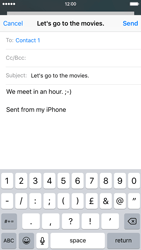 Apple iPhone 6 iOS 9 - E-mail - Sending emails - Step 8