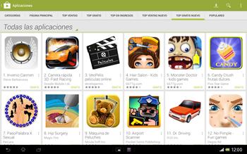Sony Xperia Tablet Z - Aplicaciones - Descargar aplicaciones - Paso 10