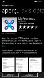 Nokia Lumia 830 - Applications - MyProximus - Étape 9