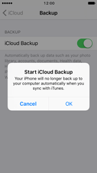 Apple iPhone 5c iOS 10 - Device maintenance - Create a backup of your data - Step 10