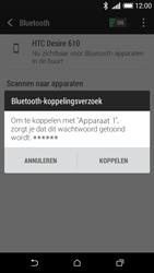 HTC Desire 610 - Bluetooth - Koppelen met ander apparaat - Stap 7