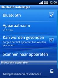 Sony Ericsson Xperia X10 Mini - Bluetooth - headset, carkit verbinding - Stap 9