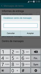 Samsung Galaxy A3 - Mensajería - Configurar el equipo para mensajes de texto - Paso 8