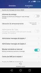 Huawei Huawei Y6 - Mensajería - Configurar el equipo para mensajes de texto - Paso 5