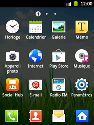 Samsung S5300 Galaxy Pocket - E-mail - Configuration manuelle - Étape 3
