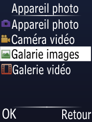 Doro Phone Easy 631 - Photos, vidéos, musique - Envoyer une photo via Bluetooth - Étape 4