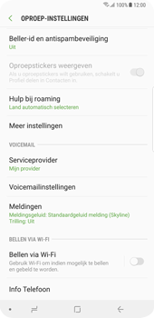 Samsung Galaxy S9 Plus - Bellen - bellen via wifi (VoWifi) - Stap 6