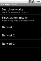Alcatel OT-991 Smart - Network - Usage across the border - Step 8