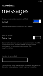 Nokia Lumia 1520 - SMS - configuration manuelle - Étape 8