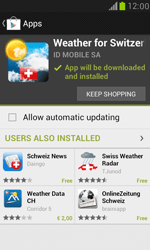 Samsung I8190 Galaxy S III Mini - Applications - Download apps - Step 17