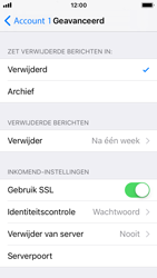 Apple iPhone SE met iOS 11 (Model A1723) - E-mail - Handmatig instellen - Stap 23