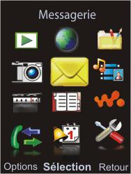 Sony Ericsson W595 - E-mail - Envoi d