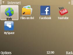 Nokia E72 - Internet - Internet browsing - Step 3