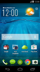 Acer Liquid E600 - MMS - Afbeeldingen verzenden - Stap 1