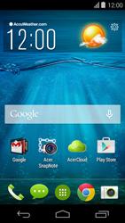 Acer Liquid E600 - Voicemail - handmatig instellen - Stap 1