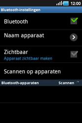 Samsung S5660 Galaxy Gio - Bluetooth - koppelen met ander apparaat - Stap 8