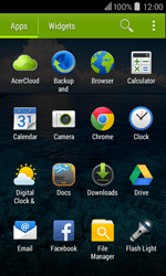 Acer Liquid Z200 - Email - Sending an email message - Step 3