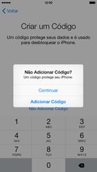 Apple iPhone iOS 8 - Primeiros passos - Como ativar seu aparelho - Etapa 22