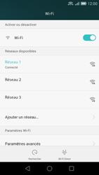 Huawei Ascend G7 - WiFi et Bluetooth - Configuration manuelle - Étape 8