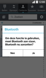 LG Optimus L70 (LG-D320n) - Contacten en data - Contacten overzetten via Bluetooth - Stap 9