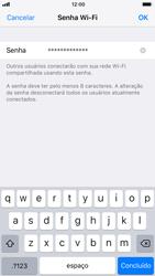 Apple iPhone iOS 11 - Wi-Fi - Como usar seu aparelho como um roteador de rede wi-fi - Etapa 5