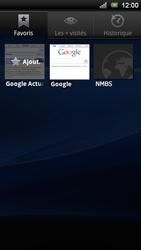 Sony Ericsson Xperia Ray - Internet - navigation sur Internet - Étape 10
