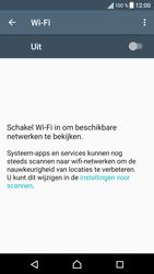 Sony Sony Xperia X (F5121) - Wi-Fi - Verbinding maken met Wi-Fi - Stap 5