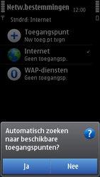 Nokia N8-00 - MMS - handmatig instellen - Stap 9