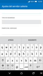 HTC One M9 - E-mail - Configurar correo electrónico - Paso 15