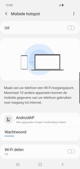 Samsung Galaxy S10 Plus - Internet - mijn data verbinding delen - Stap 12