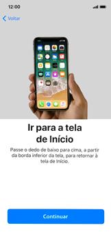 Apple iPhone X - iOS 12 - Primeiros passos - Como ativar seu aparelho - Etapa 29