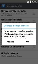 LG F70 - Internet et connexion - Désactiver la connexion Internet - Étape 7