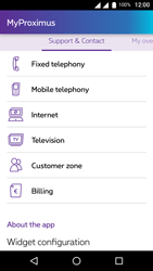 Wiko U-Feel Lite - Applications - MyProximus - Step 20