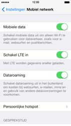 Apple iPhone 5s - Internet - Dataroaming uitschakelen - Stap 4
