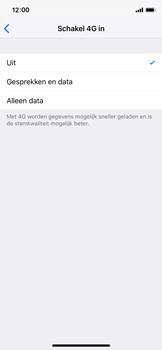 Apple iPhone X - iOS 12 - Netwerk - Wijzig netwerkmodus - Stap 7