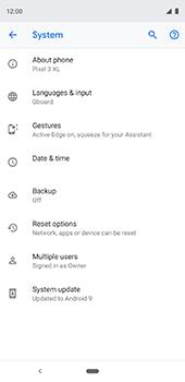 Google Pixel 3XL - Device - Software update - Step 7