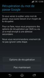 Sony Xpéria Z3 - Premiers pas - Créer un compte - Étape 18