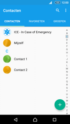 Sony Xperia Z5 (E6653) - Contacten en data - Contacten kopiëren van toestel naar SIM - Stap 4