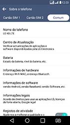 LG K8 - Funções básicas - Como atualizar o software do seu aparelho - Etapa 7