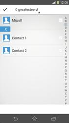 Sony C6903 Xperia Z1 - Contactgegevens overzetten - delen via Bluetooth - Stap 7