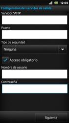 Sony Xperia U - E-mail - Configurar correo electrónico - Paso 14