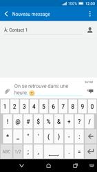 HTC One A9 - Contact, Appels, SMS/MMS - Envoyer un SMS - Étape 10