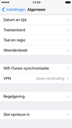 Apple iPhone 5c iOS 10 - Resetten - Fabrieksinstellingen terugzetten - Stap 4