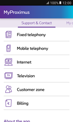 Samsung Galaxy Xcover 3 VE - Applications - MyProximus - Step 20
