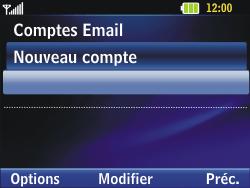 LG C320 InTouch Lady - E-mail - Configuration manuelle - Étape 13