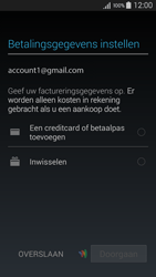 Samsung A300FU Galaxy A3 - Applicaties - Account instellen - Stap 20