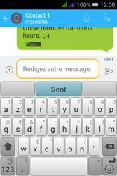Alcatel Pixi 3 Dual Sim - Contact, Appels, SMS/MMS - Envoyer un SMS - Étape 11