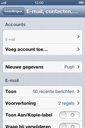 Apple iPhone 4 met iOS 6 - E-mail - e-mail instellen: POP3 - Stap 10